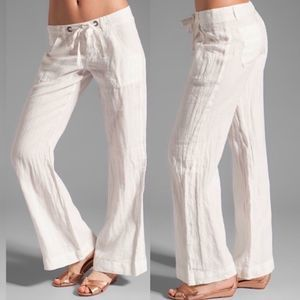 Joie Revolve Irreplaceable Linen Tie Front Pants